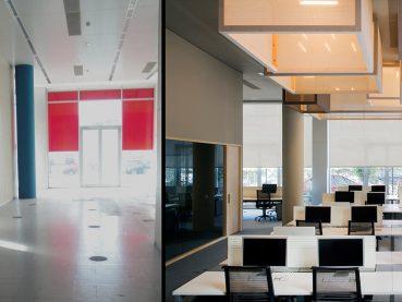 antes y despues Oficina 22@ Barcelona