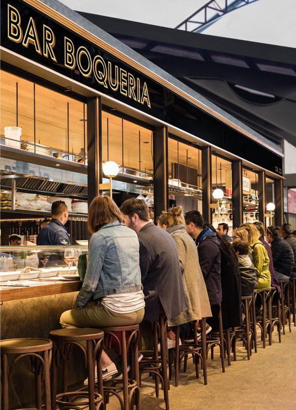 restaurants Bar Boqueria Barcelona