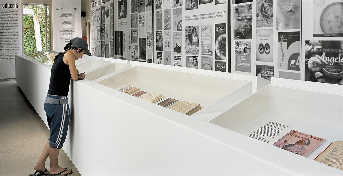 ephemeral Llibres de Cuina. Palau Robert Barcelona