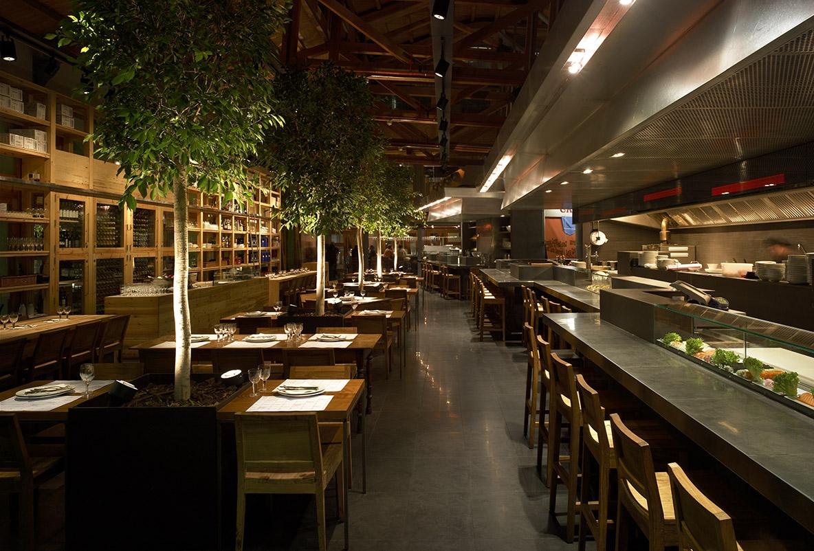 restaurantes Cuines Santa Caterina Barcelona
