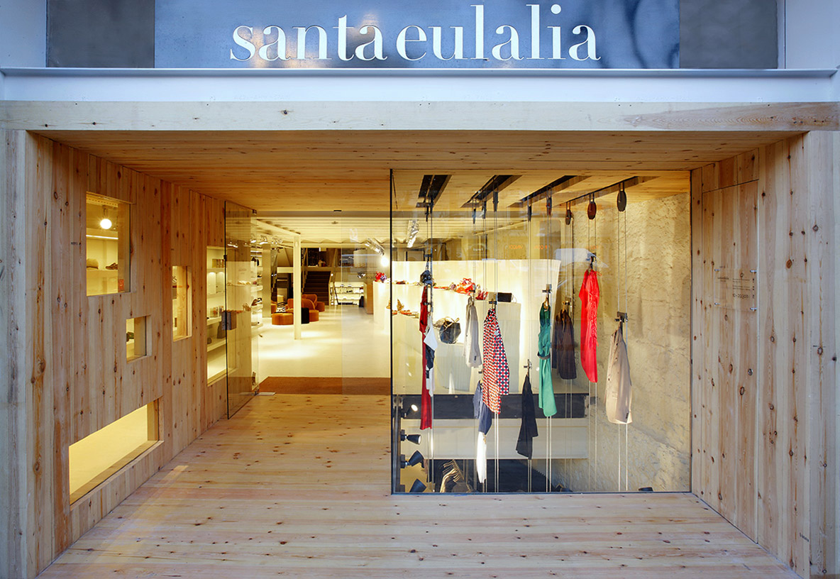 stores Santa Eulalia Barcelona