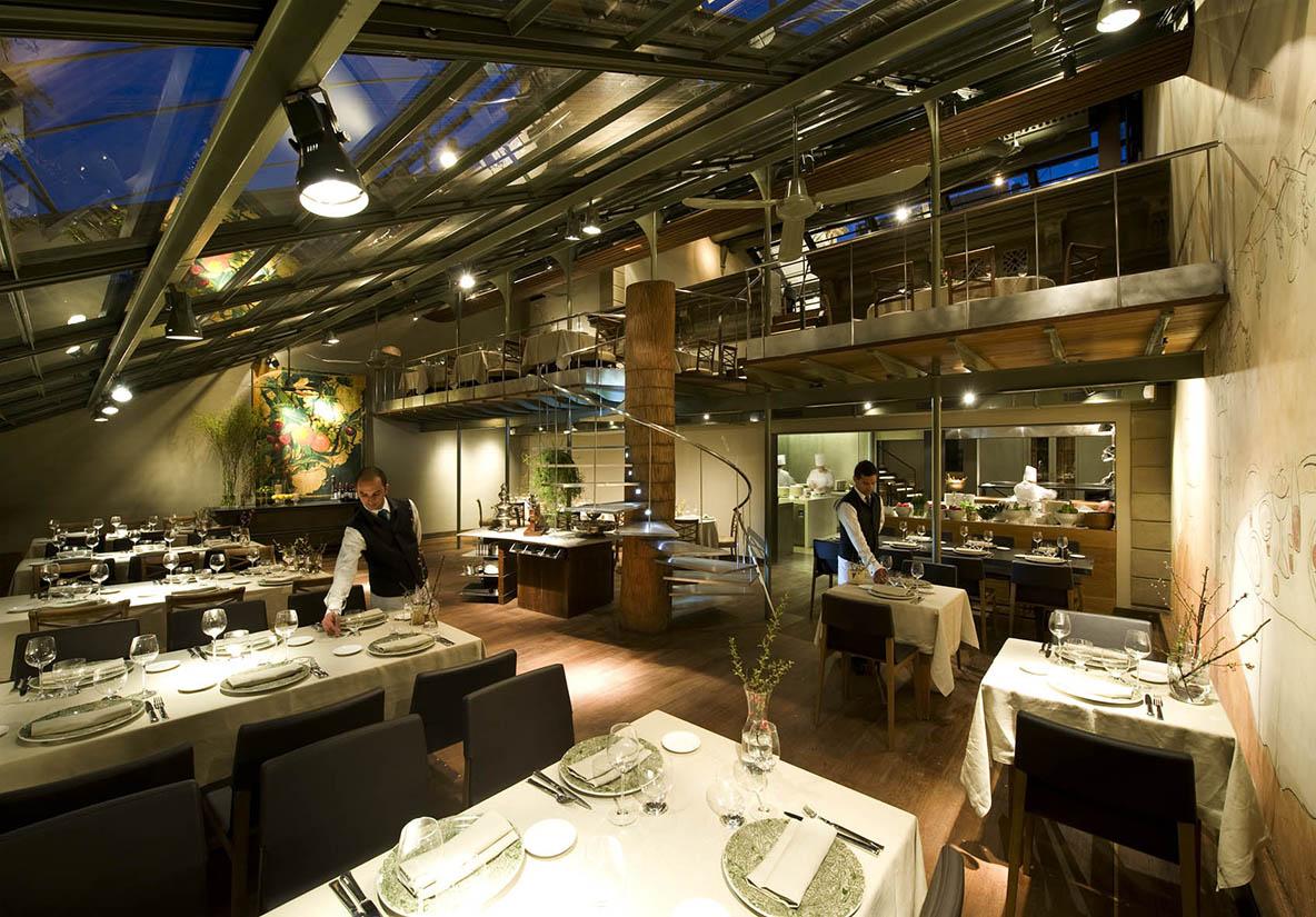 restaurantes Reforma Tragaluz Barcelona