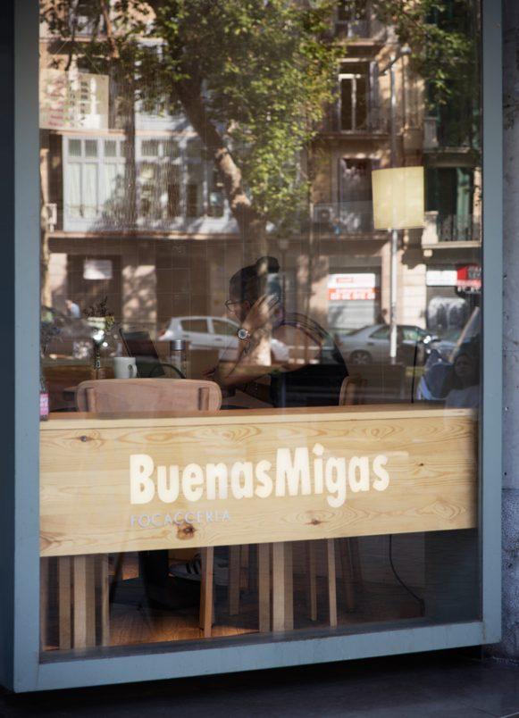 restaurants Buenas Migas Passeig de Gracia Barcelona