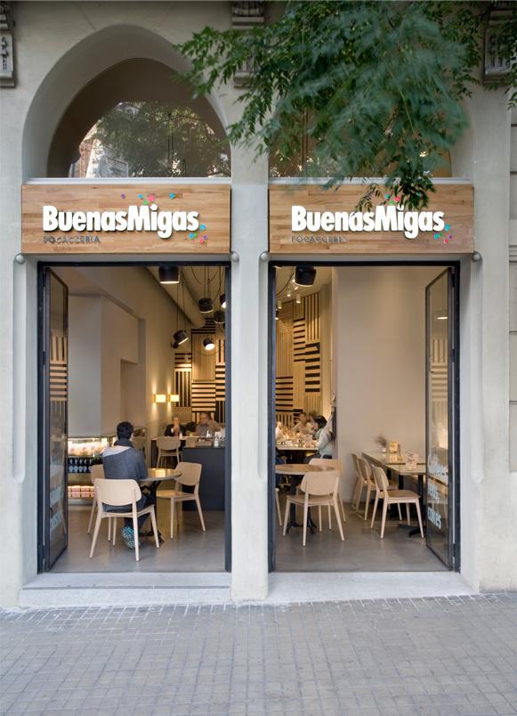 restaurants Buenas Migas Sagrada Familia Barcelona