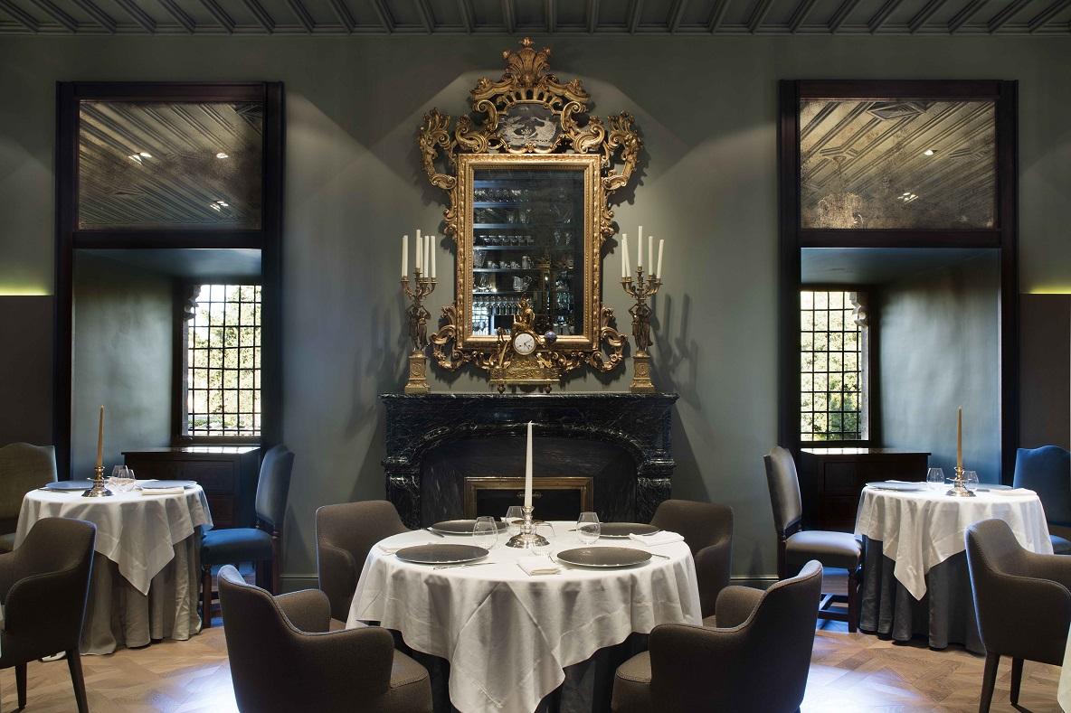 antes y despues Castell Peralada Restaurant Girona