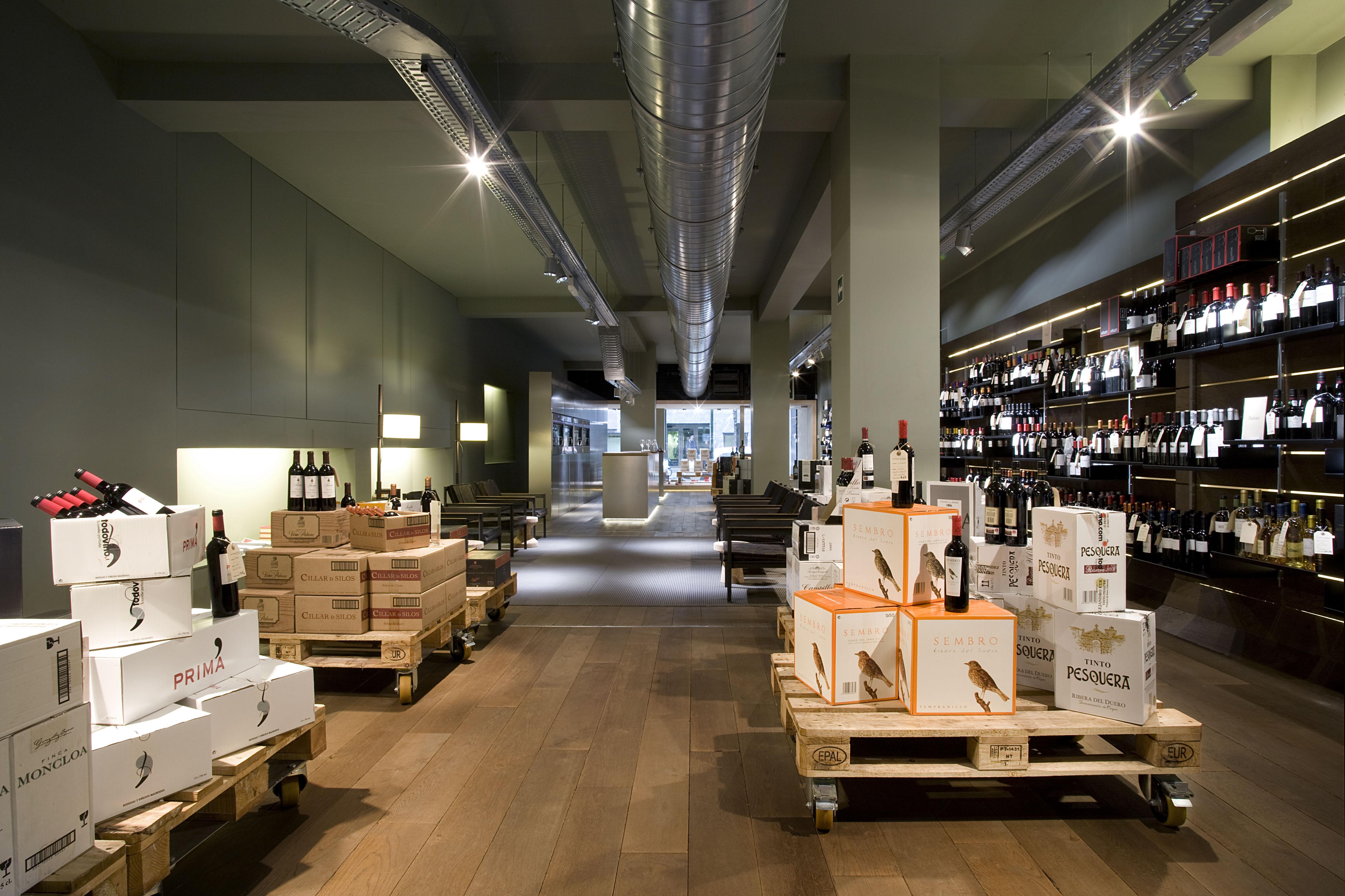 stores La Carta de Vinos Madrid