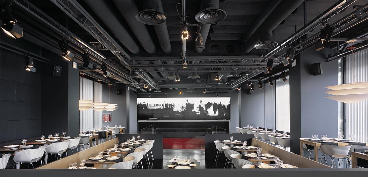 restaurantes Negro Rojo Barcelona