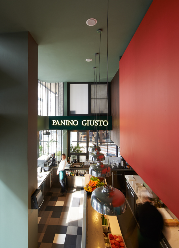 restaurants Panino Giusto San Babila Milan