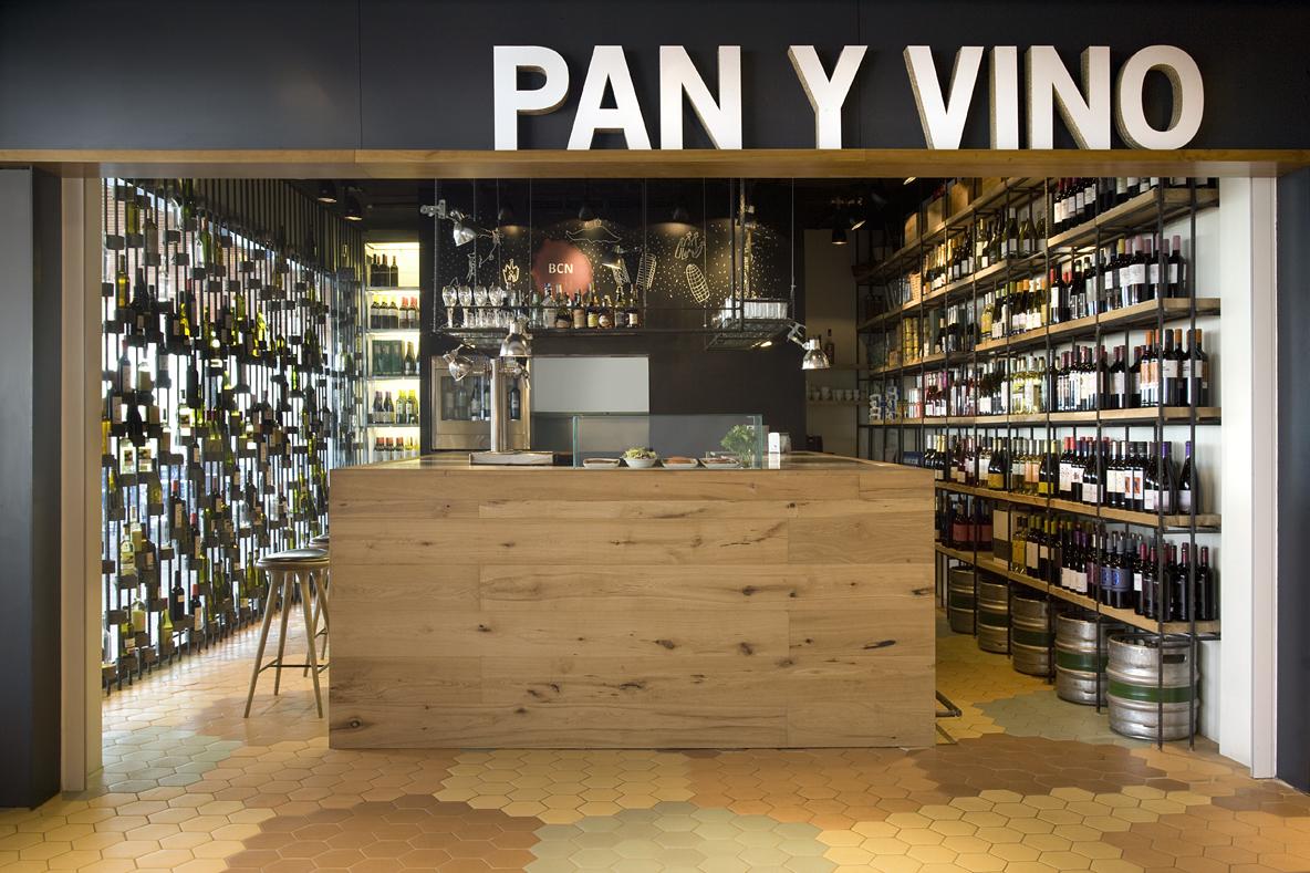 restaurantes PAN Y VINO Barcelona