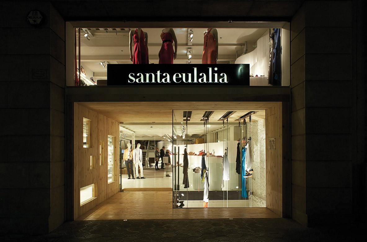 tiendas Santa Eulalia Barcelona
