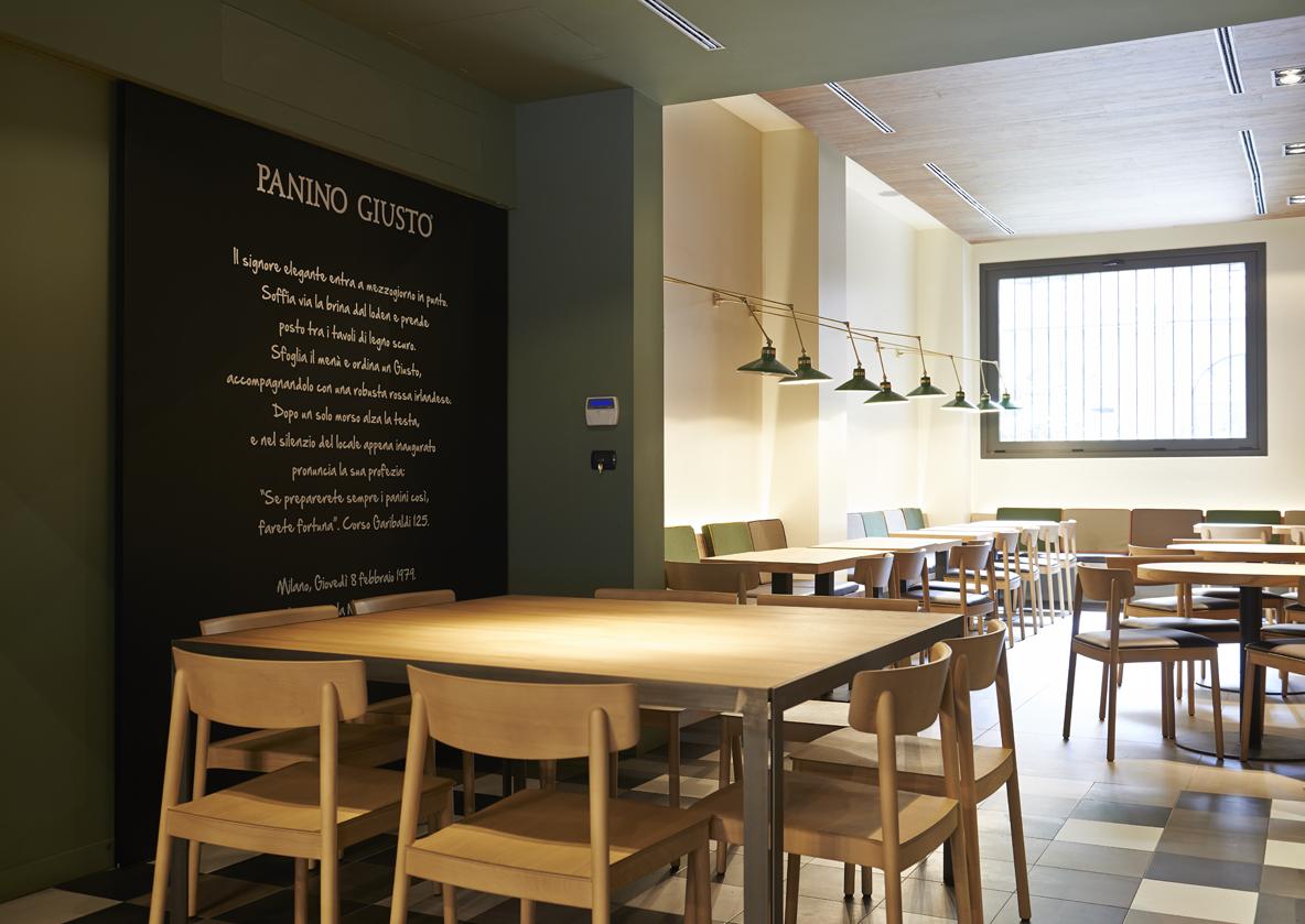 restaurants Panino Giusto Turati Milan