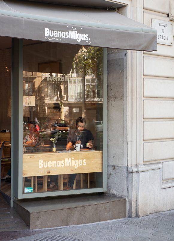 restaurantes Buenas Migas Passeig de Gracia Barcelona
