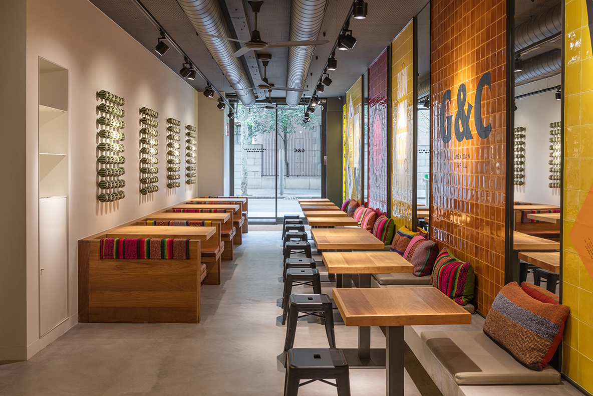 restaurantes Gonzalez & Co Barcelona