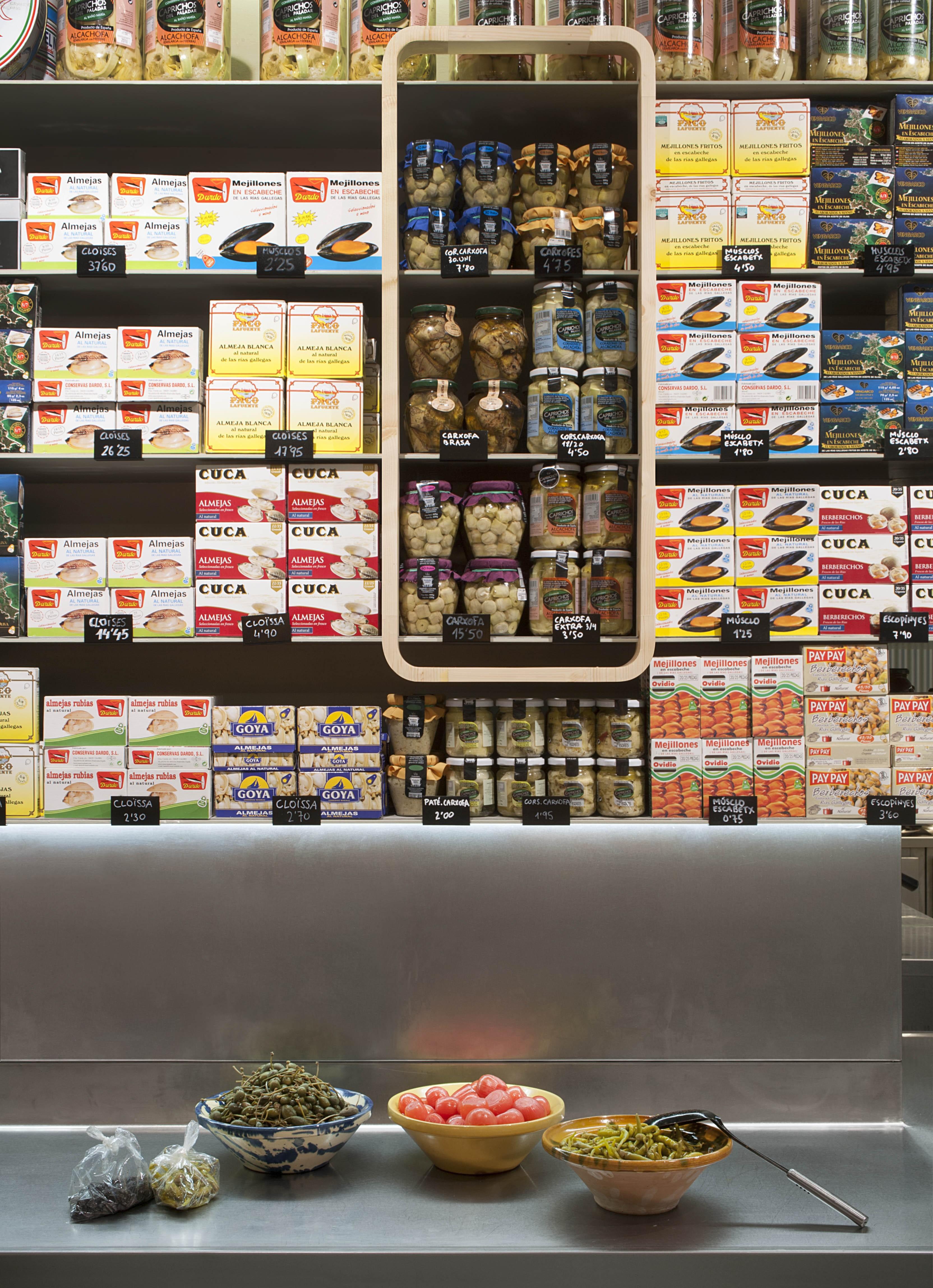 stores Bacallaneria Perelló Barcelona