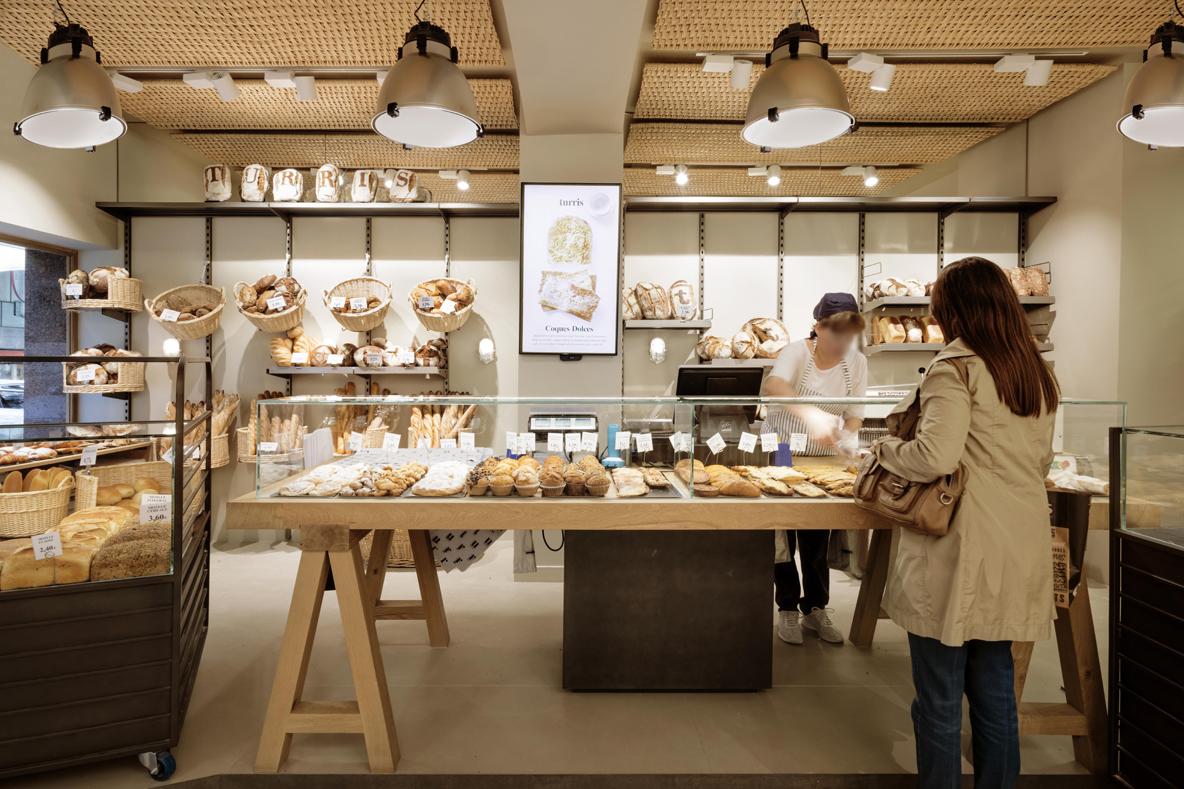 stores Turris Calvet Barcelona