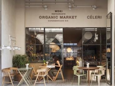 restaurantes Woki Organic Market  Barcelona