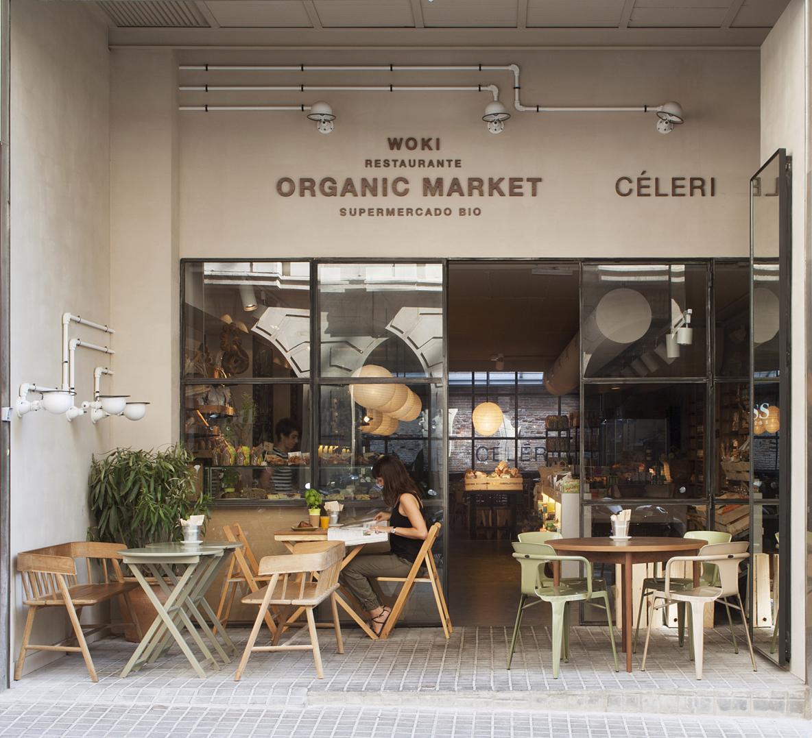 restaurants Woki Organic Market  Barcelona